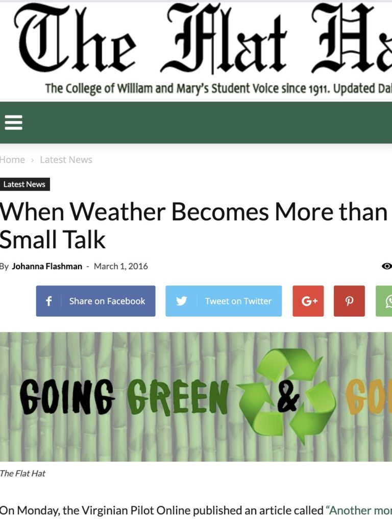 weather small talk article