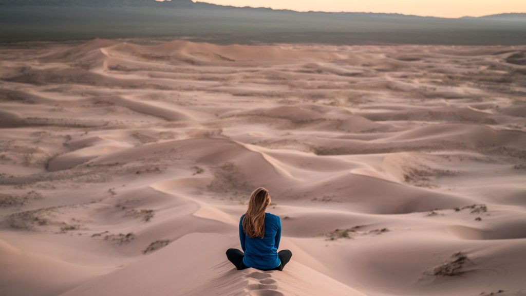 the vision of solo adventure photos