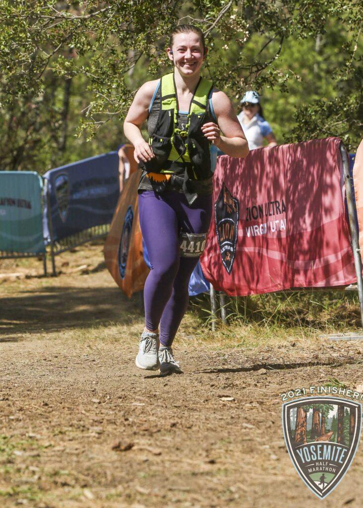 yosemite half marathon end
